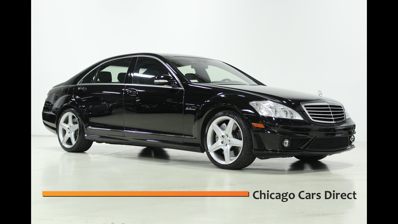 Chicago cars direct presents a 2008 mercedes benz s63 amg for Mercedes benz s63 amg 2008