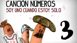 Chanson des nombres en espagnol, 1 à 10