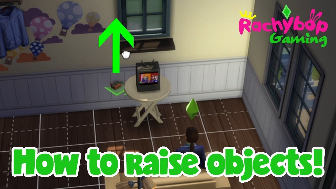 How to raise and lower objects in The Sims 4 on PS4!