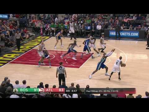 Boston Celtics vs Atlanta Hawks | January 13, 2017 | NBA 2016-17 Season
