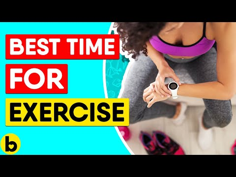 The Best Time Of Day To Exercise