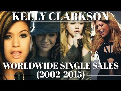 Kelly Clarkson // Worldwide Single Sales (updated 2017)