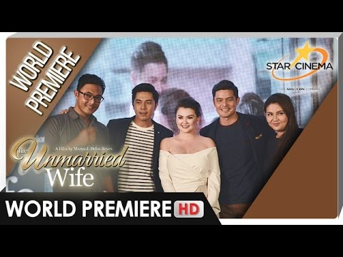 'The Unmarried Wife' World Premiere - Dingdong Dantes, Paulo Avelino and Angelica Panganiban - 동영상
