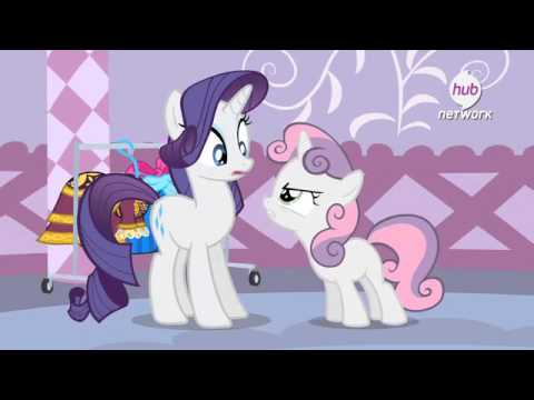 МайЛиттлПони — clip from s04e19 For Whom the Sweetie Belle Tolls
