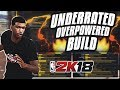 The Most Underrated OP MyPLAYER Build • Best Balanced PG Build • NBA 2K18
