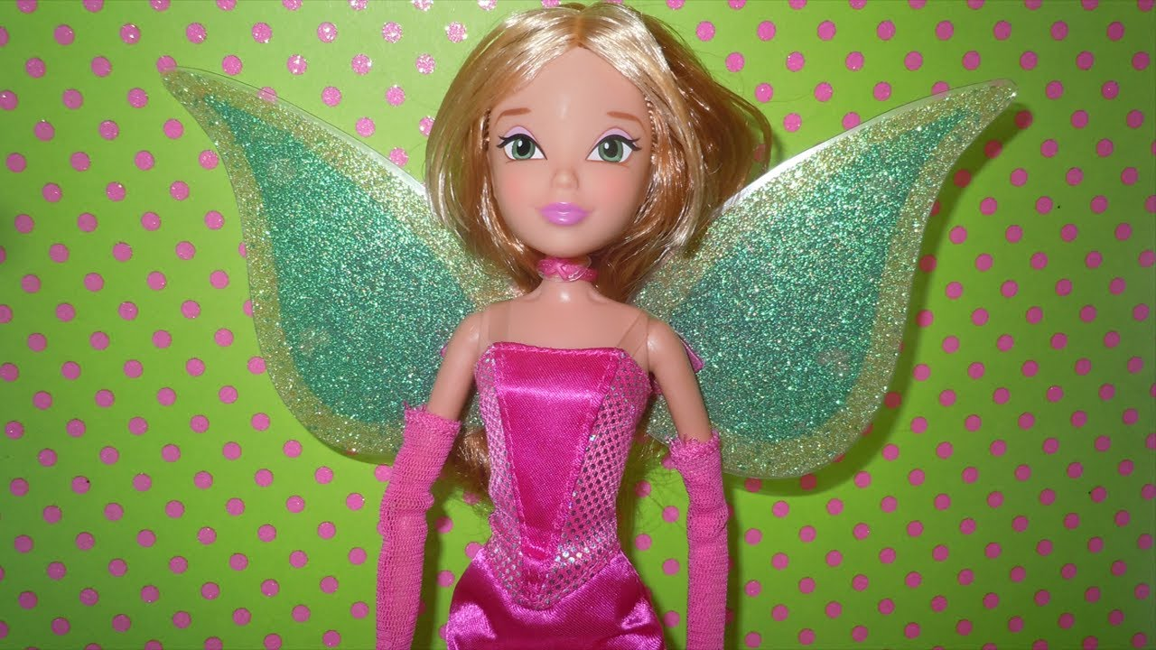 Winx Club Flora Charmix Toys R Us Exclusive Doll Review