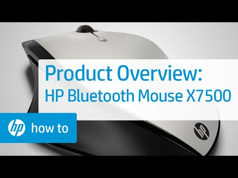 hp bluetooth mouse x4000b how to connect