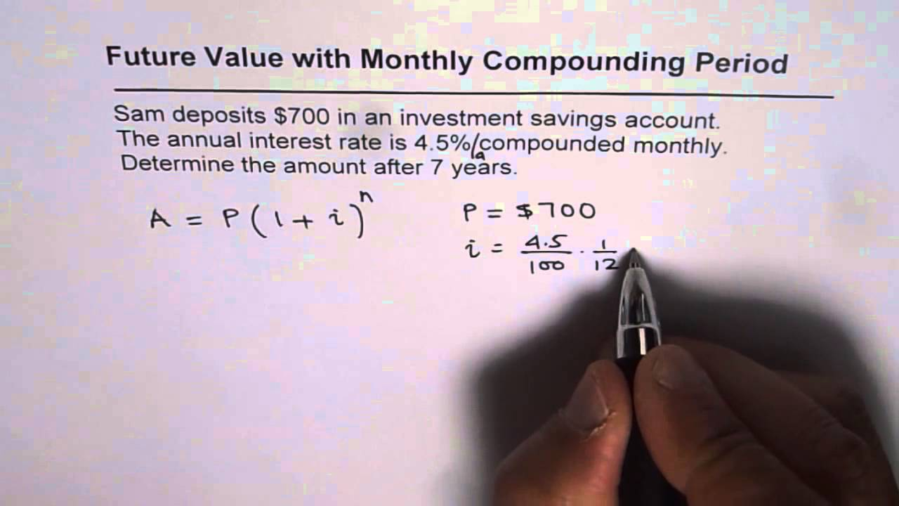 Calculate future value of investment with compound interest udarjalka bas bobenal investments