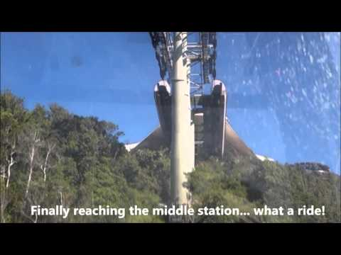 Langkawi Sky Cab Cable Car Steepest Climb in the World Malaysia Part 1