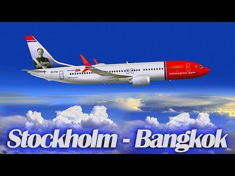 Arlanda Stockholm to Suvarnabhumi Bangkok (Norwegian Dreamliner Premium Class)
