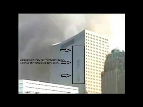 9/11 *RARE* CLEAR Video of WTC Building 7 Controlled Demolition