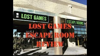 Lost Games Escape Room Review