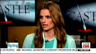 stana katic cnn interview april 1 2013 new york w castle the lives of others sneak peek
