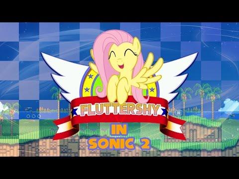 Sonic the Hedgehog 2 Fluttershy Edition - Walkthrough