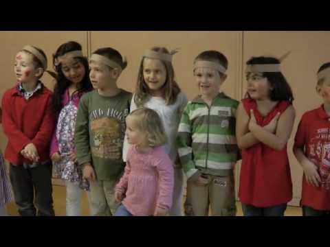 Kindergarten - Die Kinder verabschieden sich