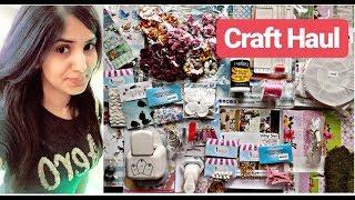 Craft Haul | My Craft Collection | Crafters Corner Craft Haul