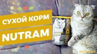 Сухой корм для кошек NUTRAM | обзор