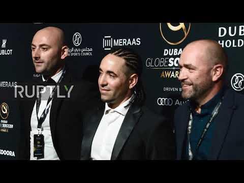 UAE: Football stars arrive at 2018 Globe Soccer Awards