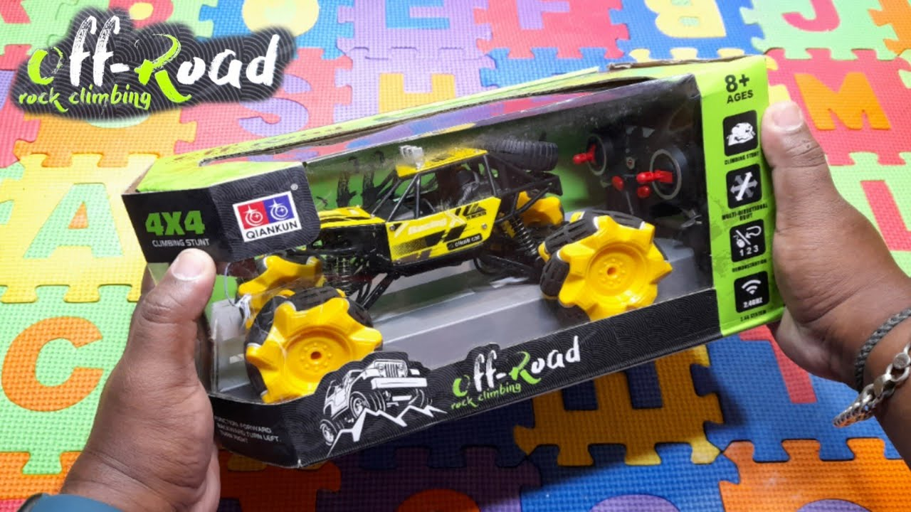RC Off Road🏎️Rock Climbing🚗Future Car || Review And Unboxing || Indian Toy Store ||
