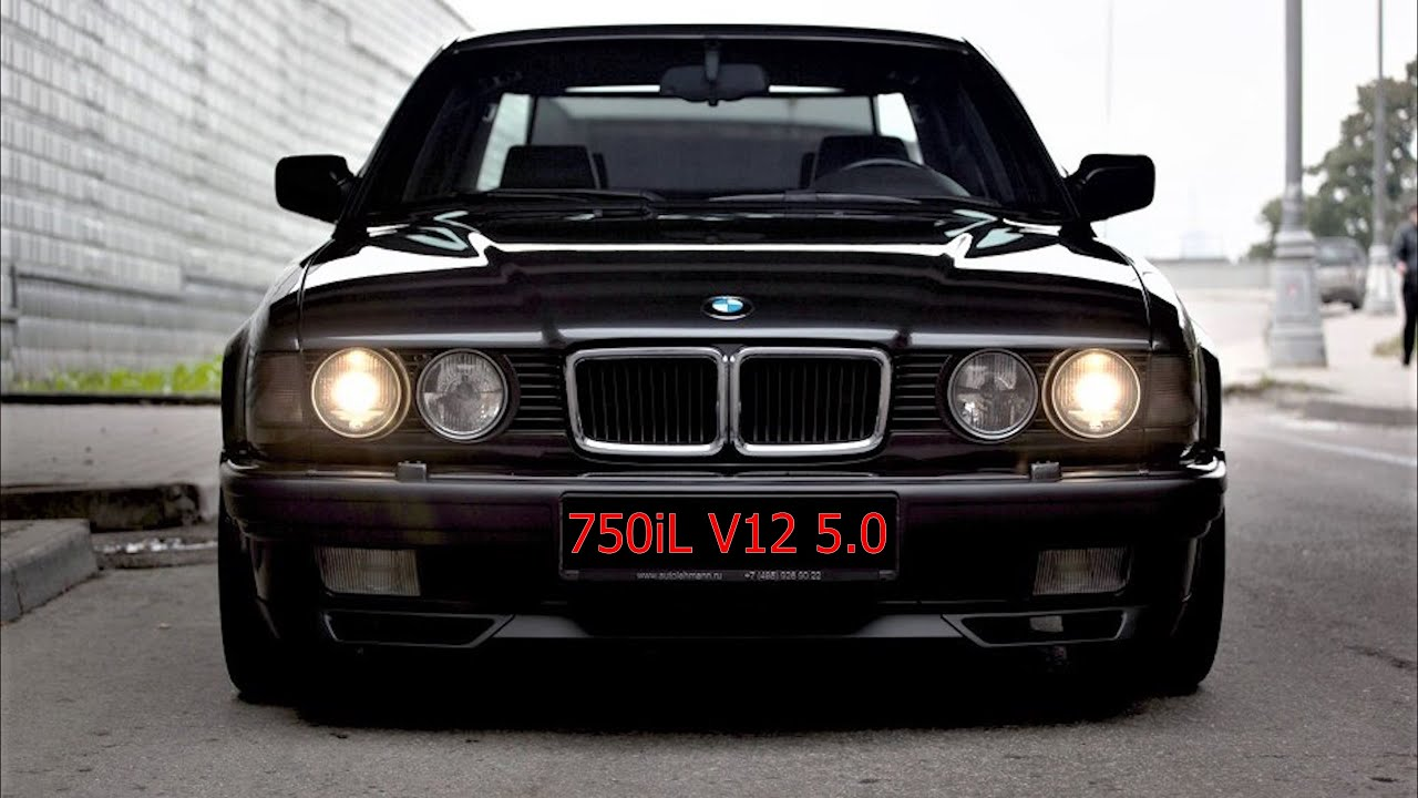 BMW 750iL E32 V12 5.0 комплектация и состояние