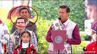 """Peña Nieto se """"Molesta"""" con niña Indigena y acarreado se Burla de EPN"""