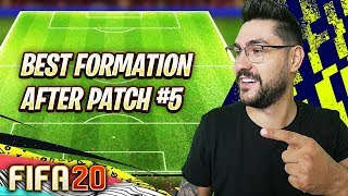 FIFA 20 BEST FORMATION & TACTICS AFTER THE LATEST PATCH !!! FIFA 20 TUTORIAL