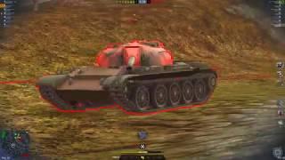 WoT Blitz T62a 6.4K easy