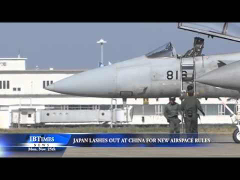 Japan Lashes Out At China For New Airspace Rules