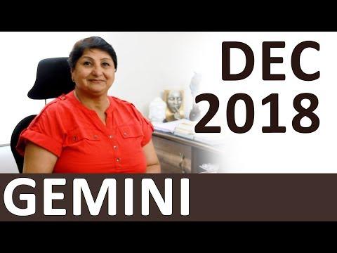 Gemini Dec 2018 Horoscope: Health Gets Better - Avoid Power Struggles - Financial Control Advised