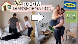 TRANSFORMING OUR ROOM IN ONE DAY | HOMEWARE SHOP!!!
