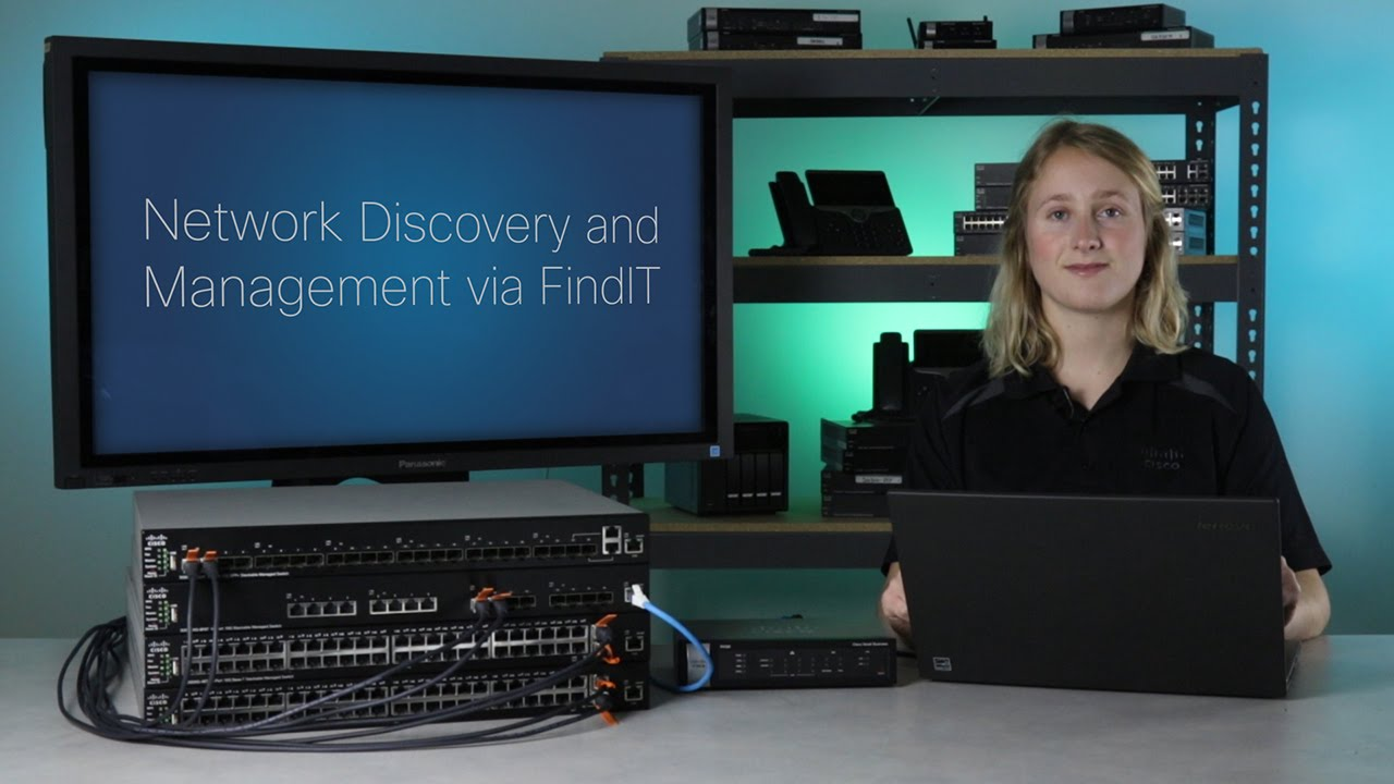 Network Discovery and Management via FindIT - Cisco