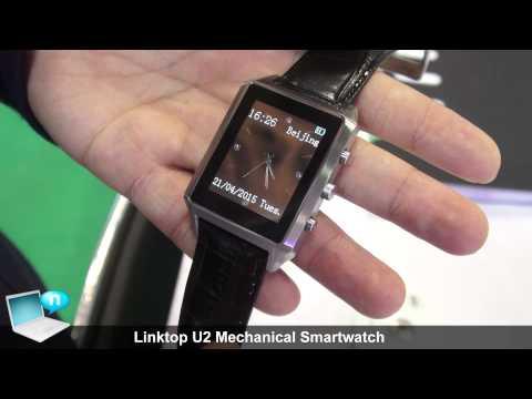 Linktop U2 Mechanical Smartwatch