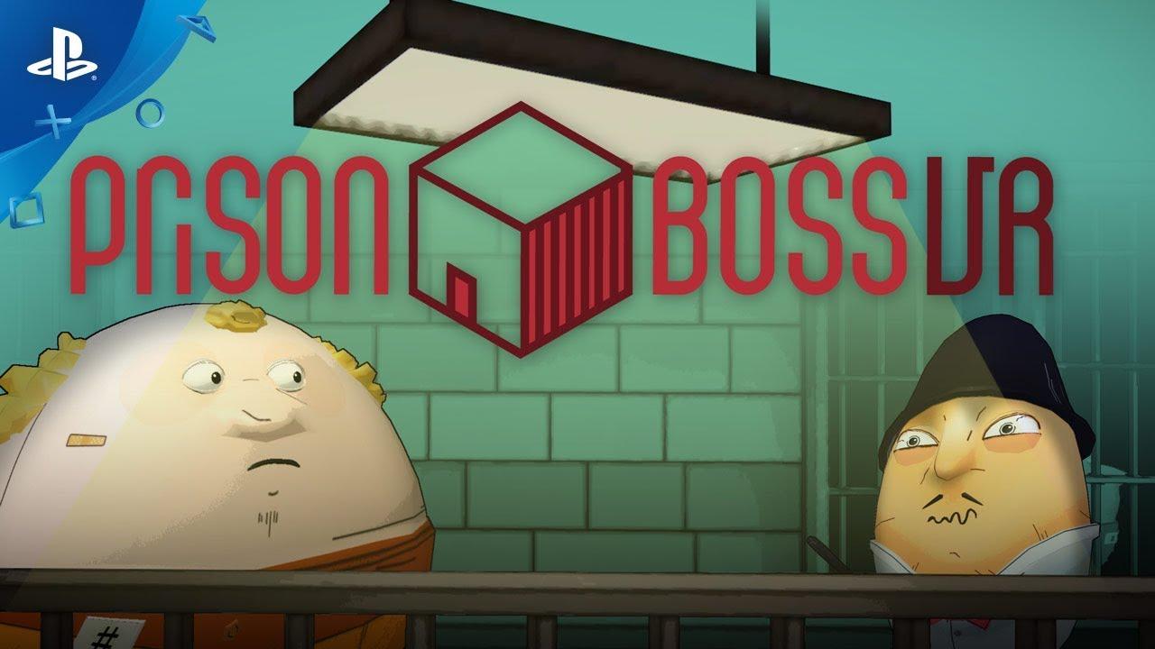 Prison Boss VR – Launch Trailer | PS VR