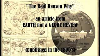 "Zetetic Christian from 1890's explains ""The Real Reason Why"" [Flat Earth]"