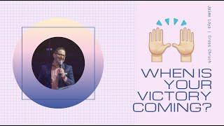 🔴 CROSS CHURCH LIVE | When is your Victory Coming? | Jaime Loya | Cross Church RGV