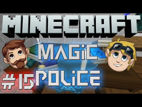 Minecraft Magic Police #15 - The Neighbour (The Yogscast