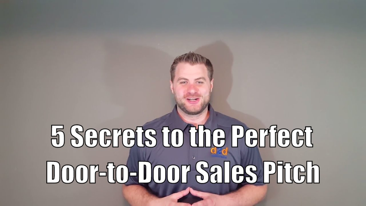 5 secrets to the perfect door to door sales pitch youtube. Black Bedroom Furniture Sets. Home Design Ideas
