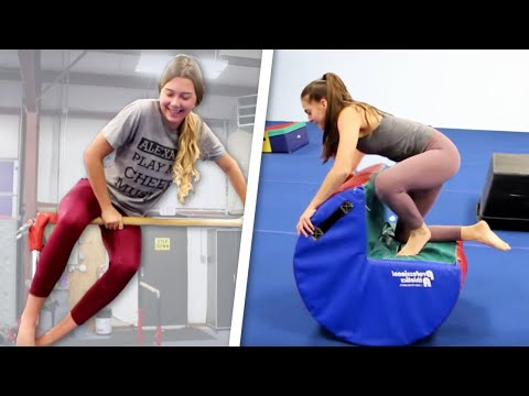 Gymnastics Obstacle Course: All Four Events!