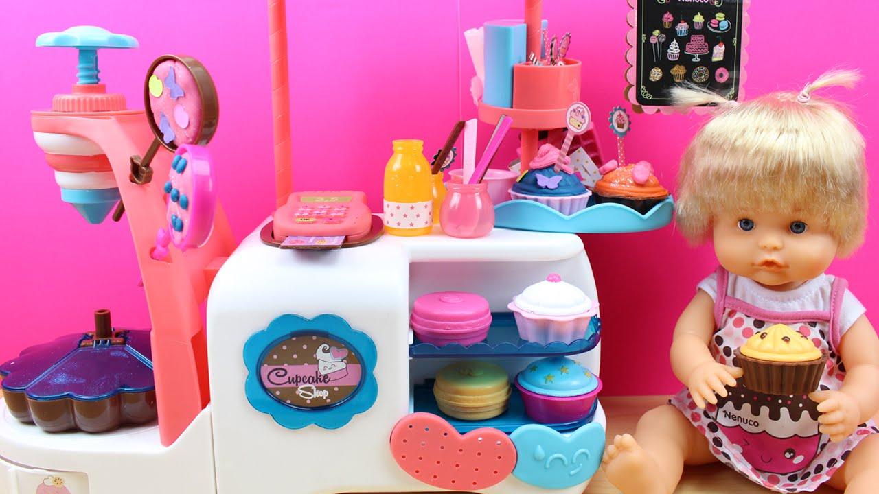 Nenuco tienda de cupcakes en espa ol la beb nenuco cocina pasteles baby nenuco shop - Cocina de nenuco ...