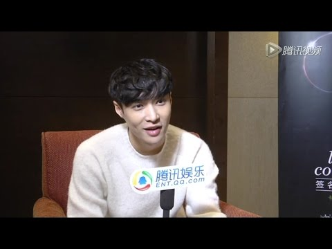 (Eng Sub) 161124 QQ Tencent Entertainment Interview with 张艺兴 Zhang Yixing LAY