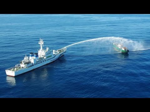 North Korean boats confronted by Japan Coast Guard