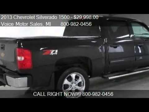 2013 chevrolet silverado 1500 1lt z 71 4x4 crew cab short for Voice motors kalkaska mi
