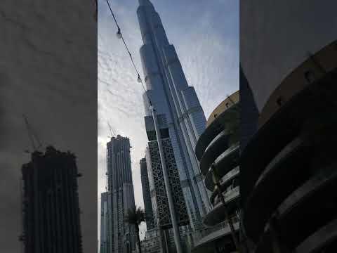 THE DUBAI MALL   DUBAI DOWNTOWN   AMAZING VIEW   BURJ KHALIFA   EVENING VISIT   TRAVEL VLOG
