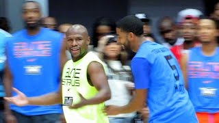 Floyd Mayweather Jr.Charity Basketball Highlights