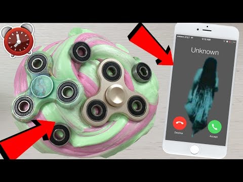 Thumbnail: NEVER SPIN FIDGET SPINNERS AND SLIME AT 3AM! *SO SO SCARY!!!*