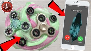NEVER SPIN FIDGET SPINNERS AND SLIME AT 3AM! *SO SO SCARY!!!*