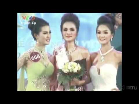 Diem Huong - Miss Vietnam World 2010