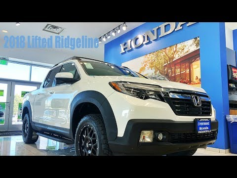 2018 Lifted Honda Ridgeline!