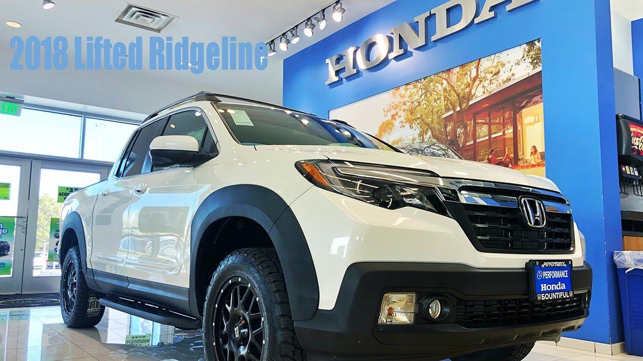 2018 Lifted Honda Ridgeline Performance Bountiful