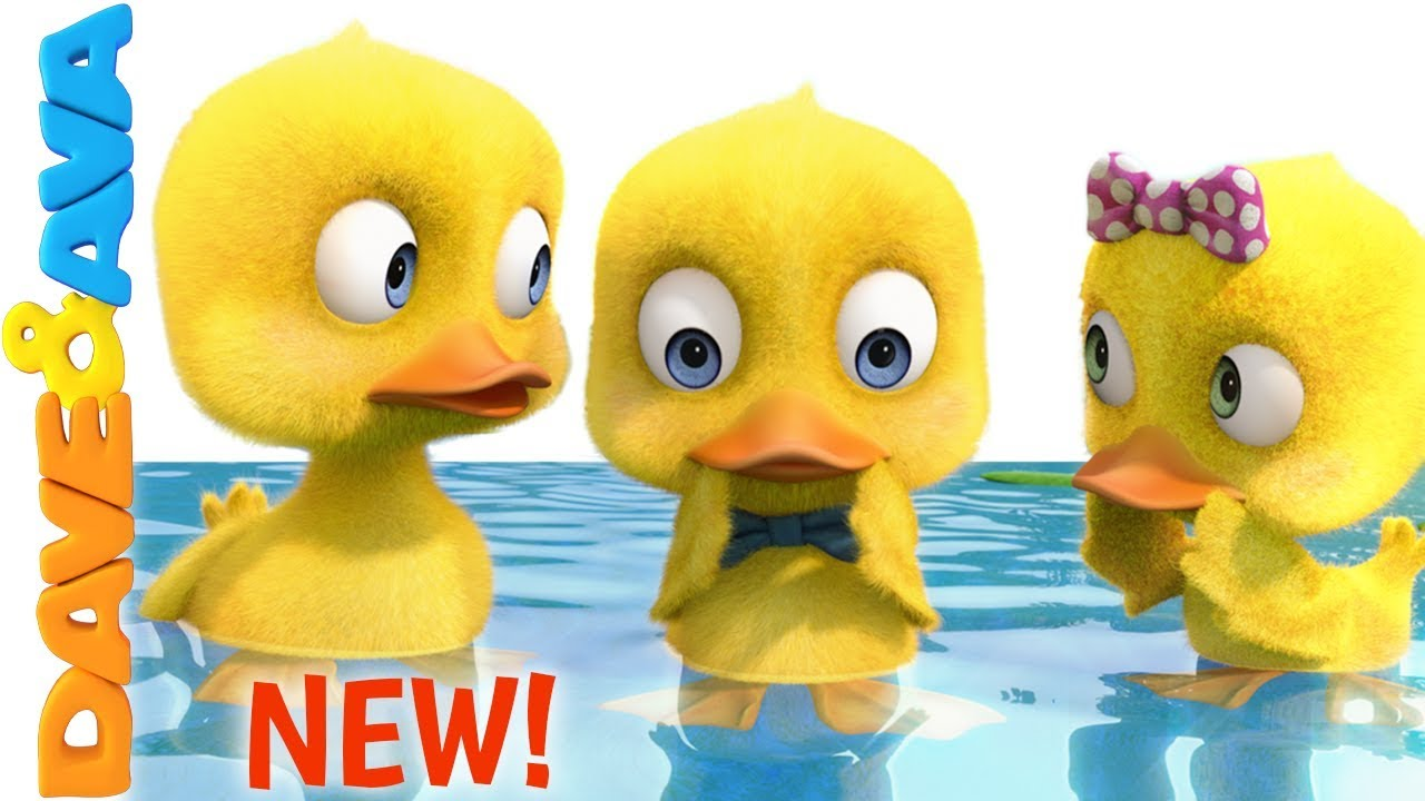 😍 Six Little Ducks | New Nursery Rhymes and Kids Songs from Dave and Ava 😍